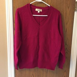 Used pretty pink sweater